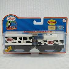 sodor dairy cars with collector card