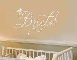 Wall Decal Personalized Little Girls Name Whimsical Butterflies Script 084 35 Baby Girl Names Elegant Baby Girl Names Cute Baby Girl Names