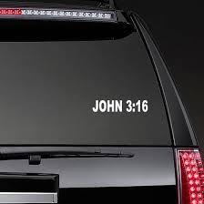 John 3 16 Sticker