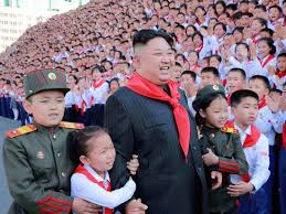 North Koreans worship Kim Jong-un ...