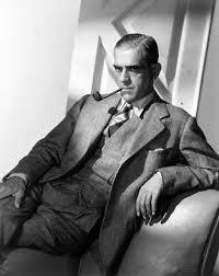Boris Karloff - in this photo he looks just like Abe Vigoda ...