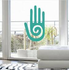 Healing Hand Vinyl Sticker Chakra Reiki Symbol Therapy Zen Meditation Wall Decal Ebay