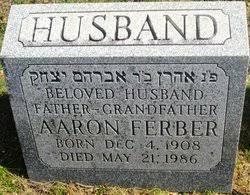 Aaron Ferber (1908-1986) - Find A Grave Memorial