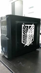 My New Pc Case Decal Scouts Legion Album On Imgur