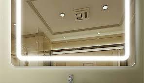 furniture bathroom mirror led lights