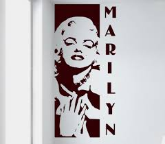 Marilyn Monroe Wall Decal 11 99 Arise Decals