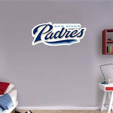 Amazon Com Skyhighprint San Diego Padres Mlb Baseball Logo Sport Wall Decor Print Sticker 25 X 11 Kitchen Dining