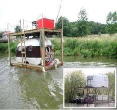 redneck houseboats diy lake house