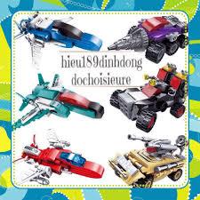 Đồ Chơi Giá Rẻ] Lắp ráp xếp hình Lego city 1412 (6in1): Người máy ...