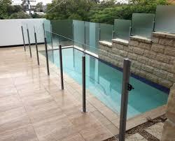 semi frameless pool fencing brisbane