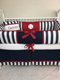 pad baseball baby bedding boy crib sets