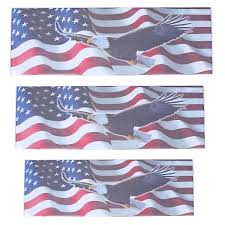Car Window Stickers Decal American Flag Eagle Usa Flag United States Truck Decor Sale Banggood Com