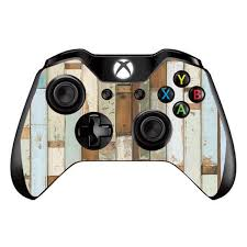 Skins Decals For Xbox One One S W Grip Guard Beach Wood Panels Teal White Wash Itsaskin Com