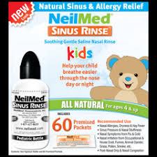 sinus rinse pediatric kit