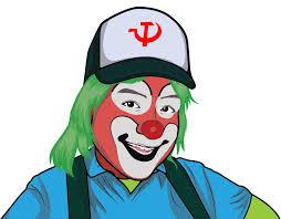 Communist clown - Openclipart