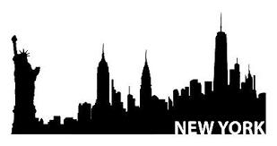 New York Skyline Vinyl Decal Car Window Laptop Ny City Sticker Ebay