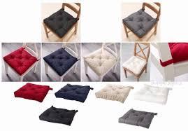 ikea malinda chair cushion pad gray