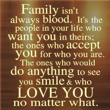 friends are family you choose yourself we can t always be but