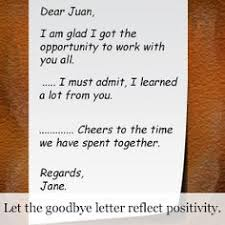 goodbye letter for coworkers example goodbye letter goodbye