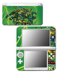 Teenage Mutant Ninja Turtles Tmnt Leonardo Splinter Cartoon Video Game Vinyl Decal Skin Sticker Cover For Original Nintendo 3ds Xl System Buy Online In India By Vinyl Skin Designs Products