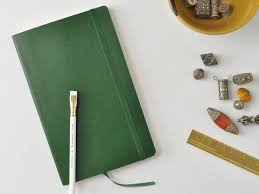 Moleskine Soft Cover Notebook - Myrtle Green – Jenni Bick Bookbinding