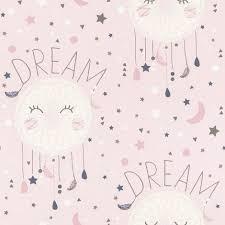 rasch dreamcatcher pink wallpaper wl