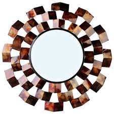 ahmad art deco inspired accent mirror