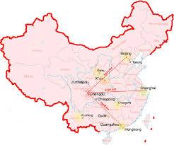 chengdu map china chengdu map chengdu