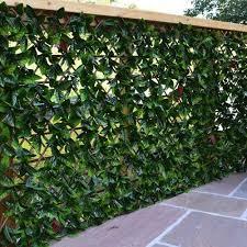 Privacy Screen Artificial Hedges Artificial Grass Backyard Garden Privacy Screen