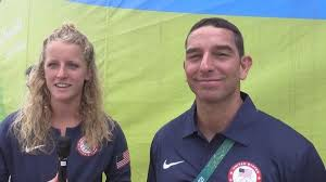 RAW: Interview with Team USA's Abby Johnston and Coach Nunzio Esposito