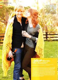 Adam Campbell and Jayma Mays I'm a little upset that she's not ...