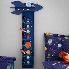 Space Height Chart Dunelm Space Themed Room Kids Bedroom Accessories Space Themed Bedroom