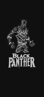 black panther marvel iphone wallpaper
