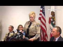 "Santa Clara Co. Sheriff Laurie Smith: will ""leave no stone ..."