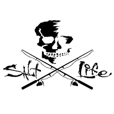 Salt Life Skull Poles Decal Bealls Florida