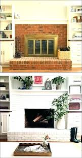 how to reface a brick fireplace herxminks