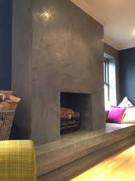 feature fireplace stucco stucco