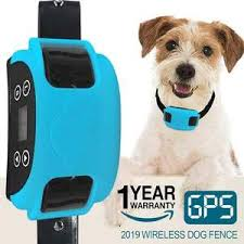 2020 Wireless Electric Dog Fence Gps Outdoor Containment System Transmitter Collar Rechargeable Waterproof Horizon Care