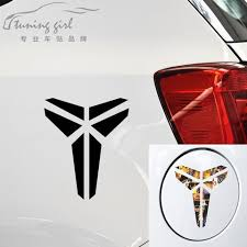 Car Stickers Basketball Kobe Bryant Decals For Trunk Windshield Vinyls