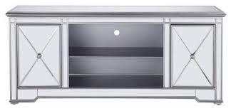 lighting modern 60 mirrored tv stand