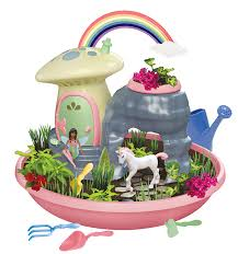 unicorn paradise with my fairy garden