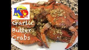 Garlic Butter Crabs - Mga Alimasag na ...