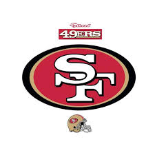 Fathead Nfl Logo Giant Officially Licensed Removable Wall Decal 14 14100 The Home Depot