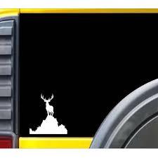Elk Standing On Top Personality Helmet Rear Windshield Custom Car Lateral Sticker Truck Window Car Stickers Length 15cm Car Stickers Aliexpress