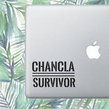 Chancla Survivor Spanish Decal Hispanic Decal Latinx Etsy Laptop Decal Macbook Decal Laptop Stickers