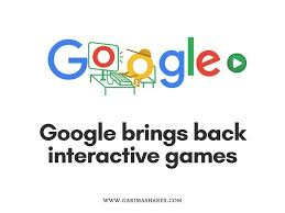 Popular Google Doodle Games Are Back ...