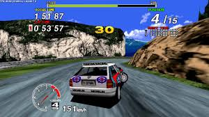 arcade sega rally chionship 1994