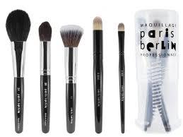 paris berlin face makeup brush kit