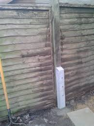 Cost Effective Fence Repair N King Garden Features