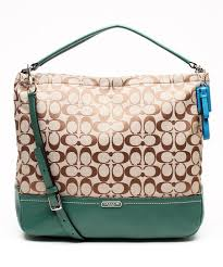 Coach Khaki & Ivy Parker Signature Hobo Two-Way Tote | Zulily